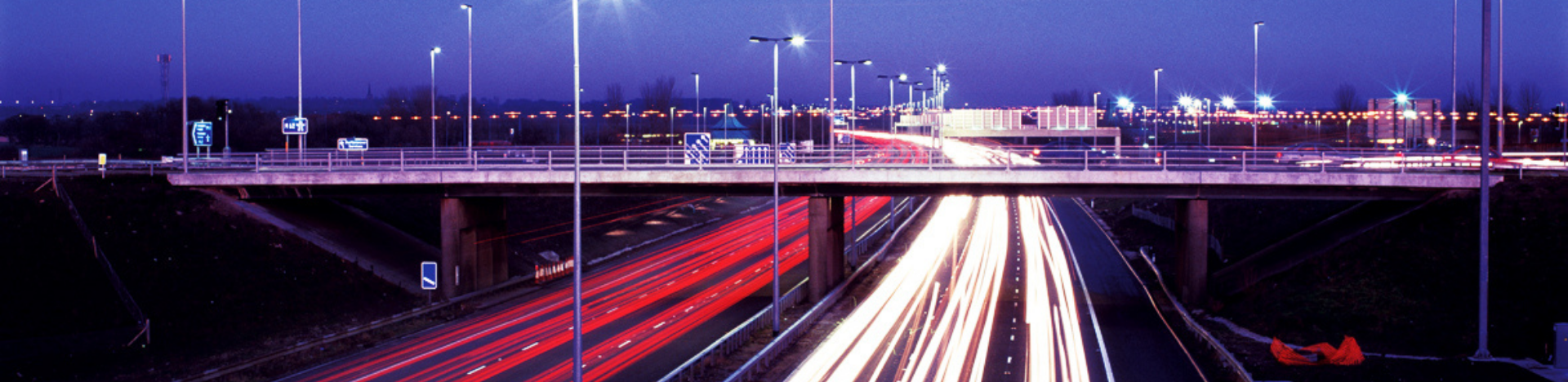 M62 at night